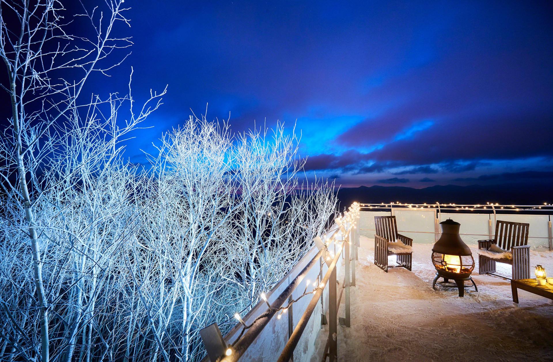 Terrace of Frost Tree