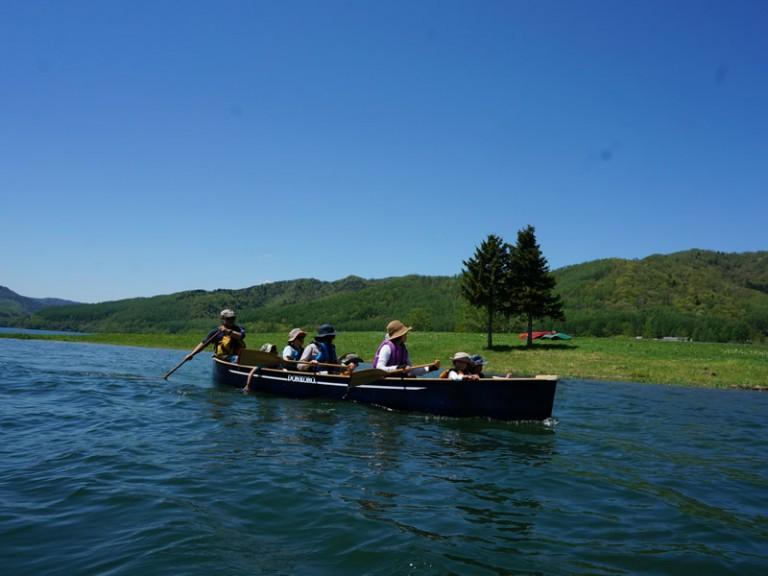 かなやま湖のんびりカヌー